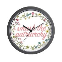 www.cafepress.com.au:+smash_the_patriarchy_wall_clock,1588653108